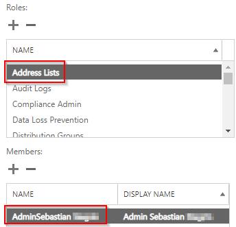 Admin Roles