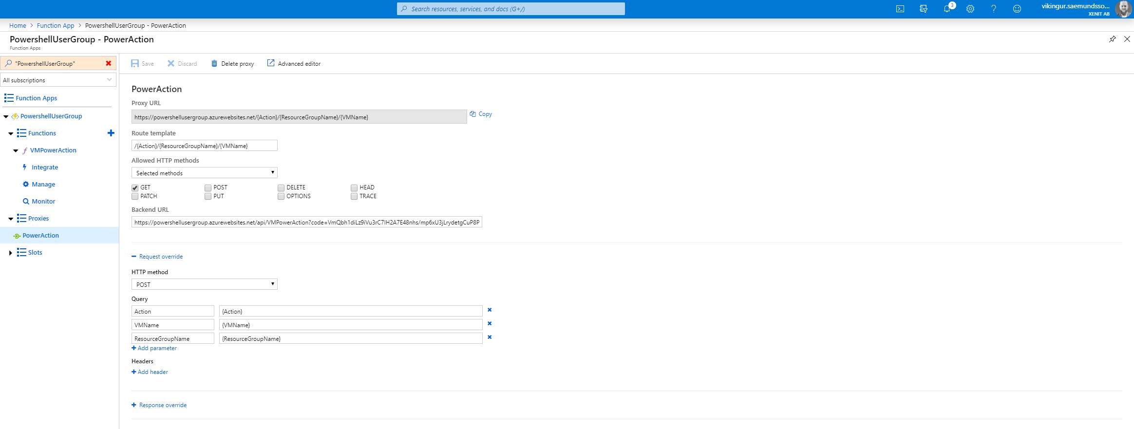 FunctionApp-Proxies