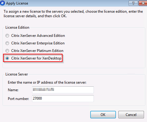 XenCenter_License_Settings