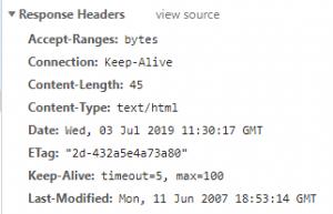 Apache Server Header Deleted